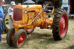 """Minneapolis Moline 1948 RTU... I have on my farm. It's restored and I have driven it in numerous parades. It is my tractor..named """"Missy's Minnie"""" :)"""