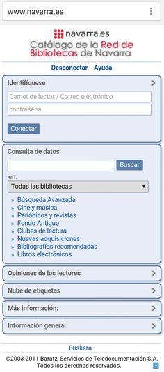 Servicio de Bibliotecas Públicas de Navarra RBPN Public Libraries, Journals, Libros, Reading Club, Journaling