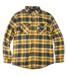 Archer Lined Flannel (Whiskey)