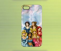Disney Princess for iPhone 4/4S iPhone 5 Galaxy S2/S3/S4 & Z10   WorldWideCase - Accessories on ArtFire