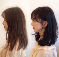 Improve The Look Of Your Hair With These Excellent Tips Haircuts For Medium Hair, Haircuts Straight Hair, Medium Hair Cuts, Medium Hair Styles, Curly Hair Styles, Asian Short Hair, Korean Medium Hair, Korean Short Hairstyle, Short Hair Korean Style