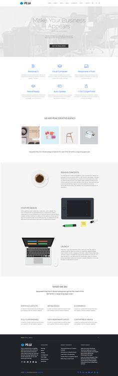 Build a wonderful site design without coding - Peak WordPress Royal Responsive Theme - Clean, Modern, Stylish, Minimalist, Multi-Purpose Template https://visualmodo.com/theme/peak-wordpress-theme/ #WordPress #Theme #PageBuilder #WebDesign #Responsive #Retina #WebSite #plugins #template #blog #portfolio #agency #Business #Marketing #SEO #Creative Build your own website, build it beautiful! Theme demonstrative website http://wordpressthemes.visualmodo.com/?theme=Peak