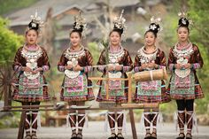 Welcome ceremony - Zhaoxing Dong Village, Guizhou,
