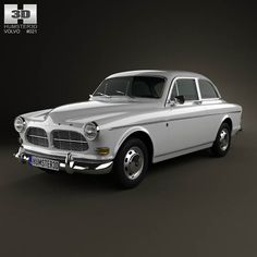 Volvo Amazon coupe 1961 3d model from humster3d.com. Price: $75