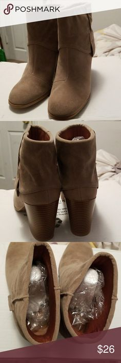 NWT Super Cute Ankle Booties Super cute boots, just not my size. Wasn't paying attention when I ordered them so my loss is your gain! Qupid Shoes Ankle Boots & Booties
