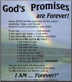 Obedience and God's Promises