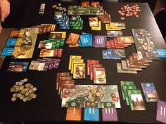 7 Wonders - 3-7 players. Involves drafting which is interesting. I really, really like it.