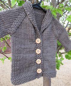 Baby Knitting Patterns For Kids 10 + Kostenlose Baby Pullover Strickmuster Baby Knitting Patterns, Baby Sweater Patterns, Knitting For Kids, Knitting For Beginners, Baby Patterns, Free Knitting, Cardigan Pattern, Start Knitting, Knitting Tutorials