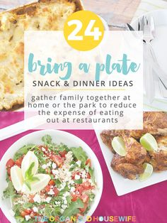 24 Bring a Plate Ideas – The Organised Housewife My Recipes, Dinner Recipes, Lunch On A Budget, Plate Lunch, Party Finger Foods, Appetisers, Organised Housewife, Food Plating, Meal Planning