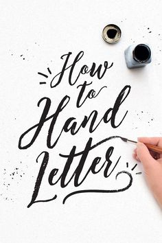 On the Creative Market Blog - How to Learn Lettering: 50 Free Tutorials and Pro Tips
