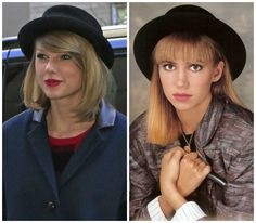 Taylor Swift Is Totally Channeling Debbie Gibson's '80s Style!
