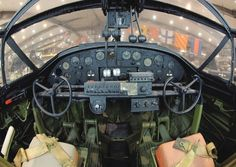 Cockpit of a Catalina Amphibious Aircraft, Navy Aircraft, Ww2 Aircraft, Military Aircraft, Flying Boat, Ww2 Planes, Aircraft Design, Flight Deck, Ugly Duckling