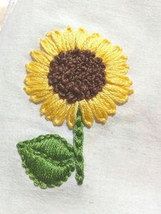 Hand Embroidery Stitch Guide #facebook