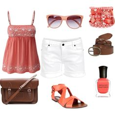 Love the combination.....Coral