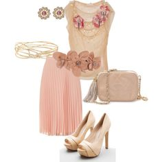 pink tea party ensemble.... perfect for a ladies luncheon