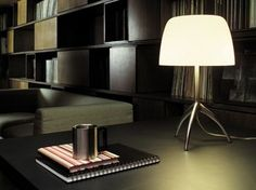 Lumiere Grande by Foscarini Desk Lamp, Table Lamps, Lighting Design, House, Furniture, Bright Lights, Home Decor, Chairs, Products