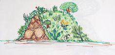 La butte de culture ou la culture sur buttes est devenue une figure de la permaculture en France, comme un signe de reconnaissance et d'appartenance à une tribu !