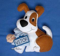 enfeite maternidade cachorrinho 3.jpg (614×580)