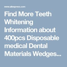 Find More Teeth Whitening Information about 400pcs Disposable medical Dental Materials Wedges Plastic 4color green/blue/purple/yellow Dentist Products New,High Quality production knives,China material handling equipment products Suppliers, Cheap product displacement from Haodental on Aliexpress.com