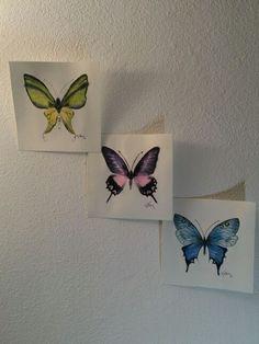 butterfly watercolot Lotus Flower, Butterfly, Tattoos, Flowers, Lotus, Tatuajes, Tattoo, Japanese Tattoos, Bowties