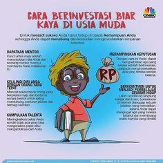 Cara berinvestasi biar kata di usia muda by @cnbcindonesia . #SuccessBefore30 #sb30 #cpn #chandraputranegara #bpb #badaipastiberlalu #teknobie #sb30health Study Motivation Quotes, Business Motivation, Life Motivation, Business Planning, Business Tips, Online Business, Bisnis Ideas, Deep Talks, Public Knowledge