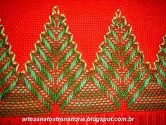 ARTESANATOS TRANSITÓRIA: ponto vagonite natal
