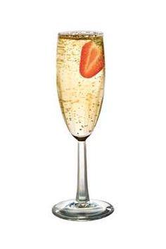La Rosette Cocktail:  St Germain Elderflowe Liquer and Champagne... tastes delicious!