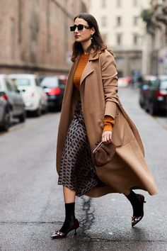The Latest Street Style From Milan Fashion Week via @WhoWhatWearUK