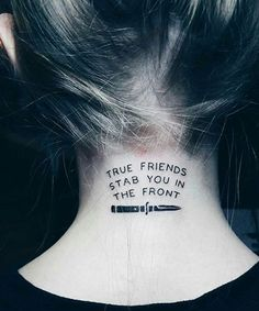 Passionate Quote Tattoo Ideas for Girls