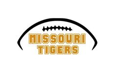 Missouri Tigers College Football Cutting Files Silhouette SVG, DXF and EPS vinyl…