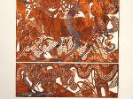 Arabesque, Bookillustration made as a papercut by Sonja Brandes, danish artist.