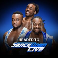 The New Day headed to SmackDown Live