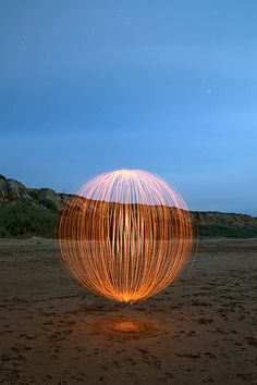 Light Sphere By Exagerarte