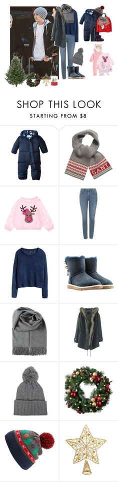 """""""Family christmas shopping"""" by famousstyles-dp ❤ liked on Polyvore featuring Columbia, Carter's, GANT, Ralph Lauren, Topshop, H&M, UGG Australia, Wrap and Capelli New York"""