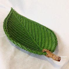 Плетёные изделия из бумажной лозы . | VK