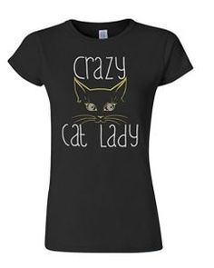 c3e1bf8fc Sassy cat lady t-shirt. Crazycatladysupplies.com Cat Lover Gifts