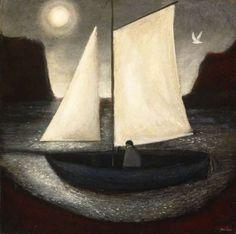 John Caple b. 1966, 'The Moon Journey'