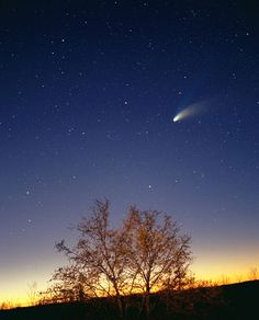 Halleys Comet-It came by the Earth last in 1986, and will return in 2061-