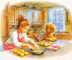 Les Amis de Martine font la cuisine .. Marcel Marlier
