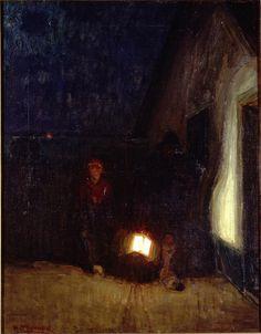 .:. Henry Ossawa Tanner  American, 1859–1937  Return of the Fisherman, ca. 1905