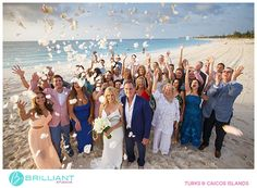Susan and Steve's Grace Bay Club wedding in Turks and Caicos with Brilliant Studios