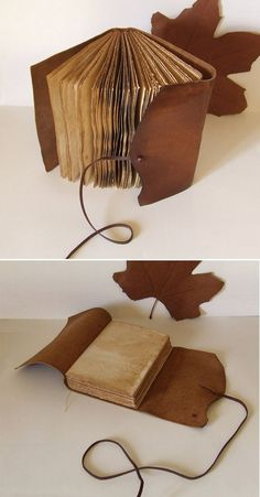 Combine with Book Binding Tutorial notebook cover diy handmade journals Items similar to Rustic Leather Journal, antiqued brown ocher leather on Etsy Handmade Journals, Handmade Books, Handmade Notebook, Handmade Rugs, Handmade Crafts, Journal En Cuir, Book Crafts, Paper Crafts, Journal Covers