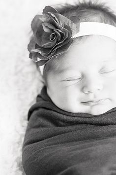 newborn baby girl... looking forward to doing this with ours in a few short weeks!!!