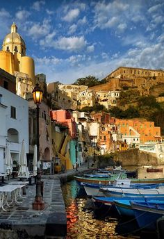 "robyketti: "" Procida Italy "" I don't repost any photo that contains a hidden link…                                                                                                                                                                                 More"