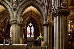 Rosslyn Chapel - The famous chapel – star of the Da Vinci Code  Rosslyn Chapel has presented another mystery as builders discovered a 600-year-old bee hive built into the stones. The 15th Century Midlothian chapel is undergoing a £13million preservation exercise at the moment.