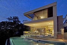 Modern waterfront property in Australia: House Vaucluse