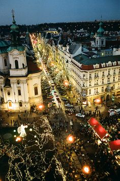 European Christmas Market: This one is in Prague.