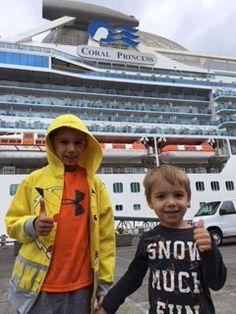 Princess Cruise to Alaska with kids!  My NinjaMom Hacks...