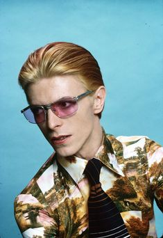 1975 - David Bowie as Thomas Newton in The Man Who Fell To Earth film 70s.