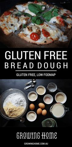 This gluten free, low FODMAP dough can be made into bread rolls, burger buns, pizza bases, savoury scrolls, and sweet scrolls.